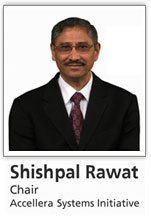 Shishpal Rawat, Accellera Systems Initiative Chair